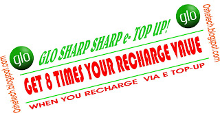 Get 8x Your Recharge Value When You Recharge Via eTop-Up On Glo NG