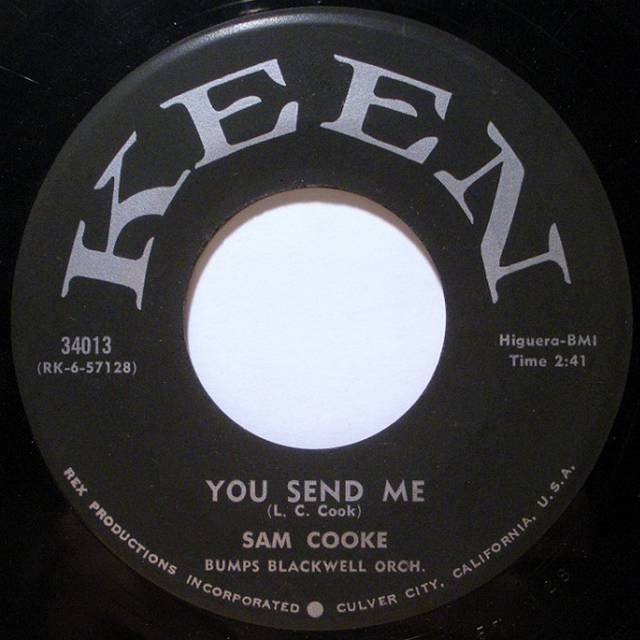 You send me. Sam Cooke