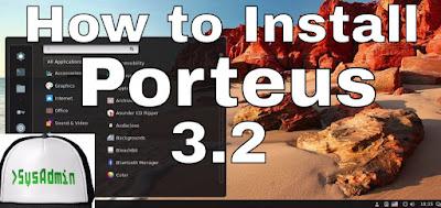Porteus 3.2 Linux