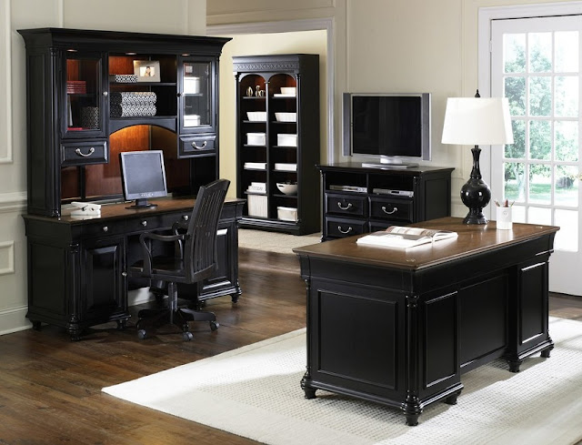 best buy black home office computer desk sets with file cabinets for sale