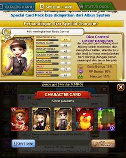 bukti trik dapat kartu karakter haruka jkt 48 s+