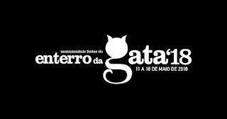 Programa e cartaz do Enterro da Gata 2018 em Braga