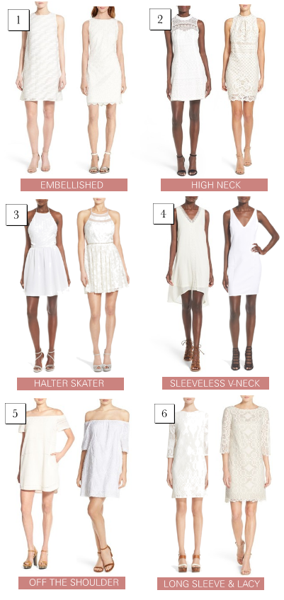 bridal shower dresses- which is your favorite?