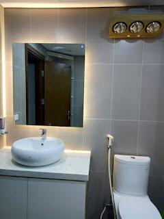Đèn sưởi phòng tắm tại Điện Biên