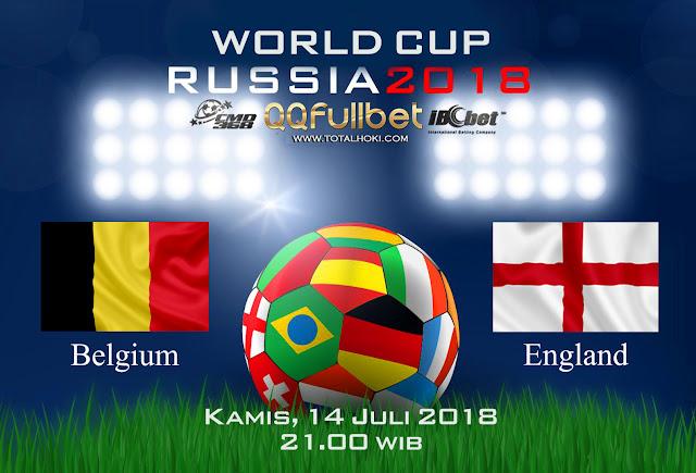 BOLA88 - PREDIKSI SEMIFINAL PIALA DUNIA: BELGIA VS INGGRIS 14 JULI 2018 ( RUSSIA WORLD CUP 2018 )