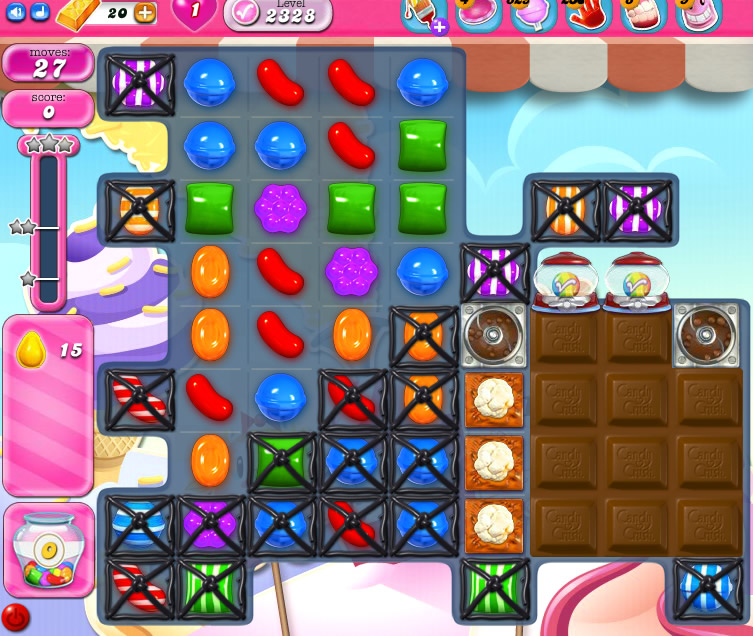 Candy Crush Saga level 2328