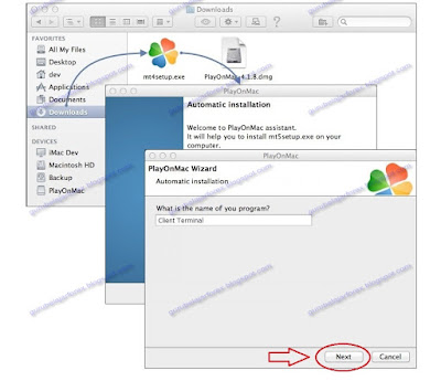 Cara Install Metatader di Mac 1