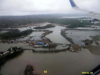 अंडमान यात्रा - दिल्ली से पोर्ट ब्लेयर वाया कोलकाता