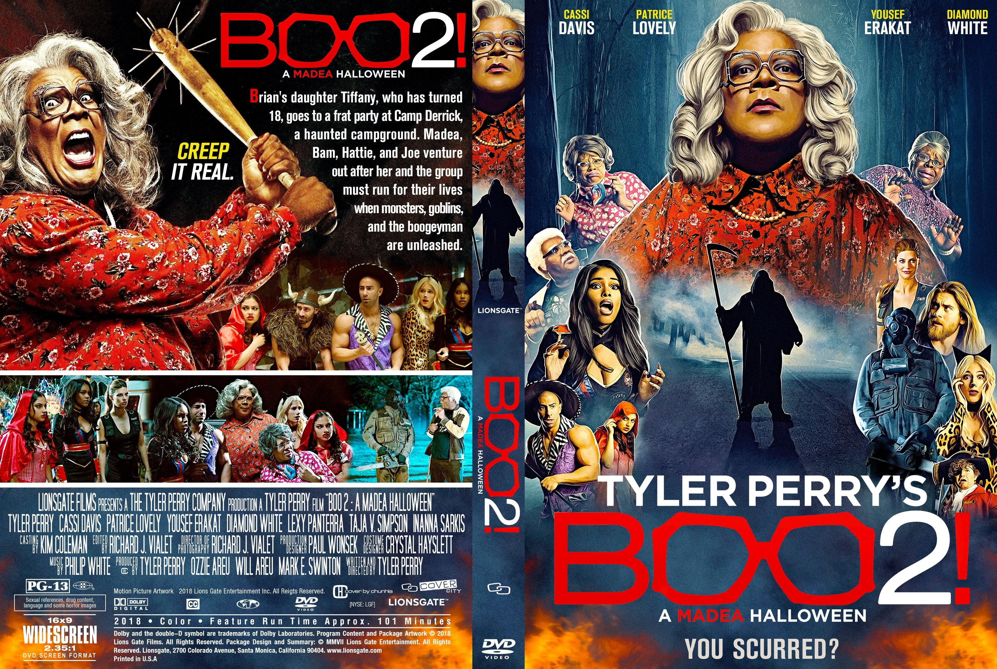 a madea halloween dvd cover