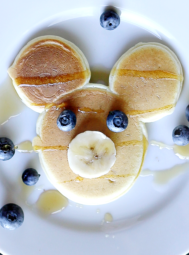 Our Perfectly Imperfect Mickey Mouse Pancakes