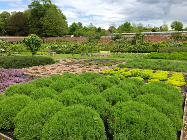 Babington House Walled Garden