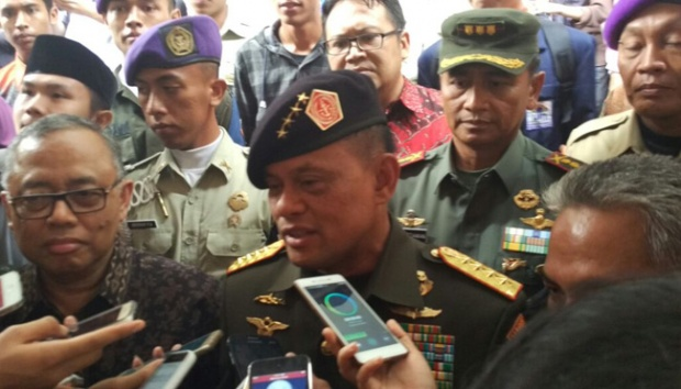 Aksi Damai 212, Demi Keamanan Pasukan Pengaman Yang Berjaga Tidak Dibekali Senjata Api
