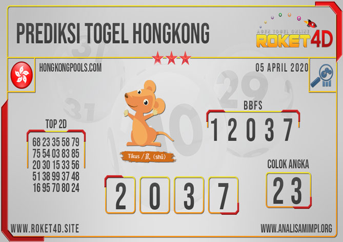 PREDIKSI TOGEL HONGKONG ROKET4D
