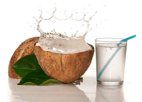 Coconut water for blood circulation