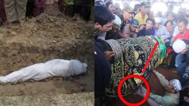 Wanita Ini 7 Kali Naik Haji, Saat Meninggal Jenazahnya Tak Diterima Bumi, Ternyata Ini yang Sering Dilakukan Semasa Hidup !!
