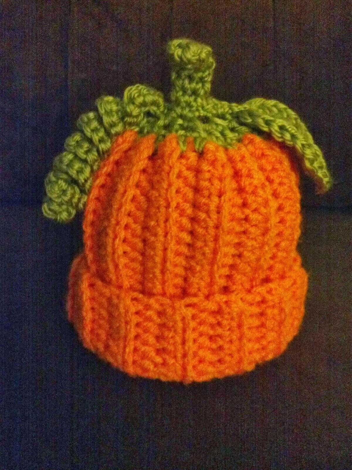 Holy Needles  Pumpkin time! Pumpkin Beanie Hat 5ec1609ec885
