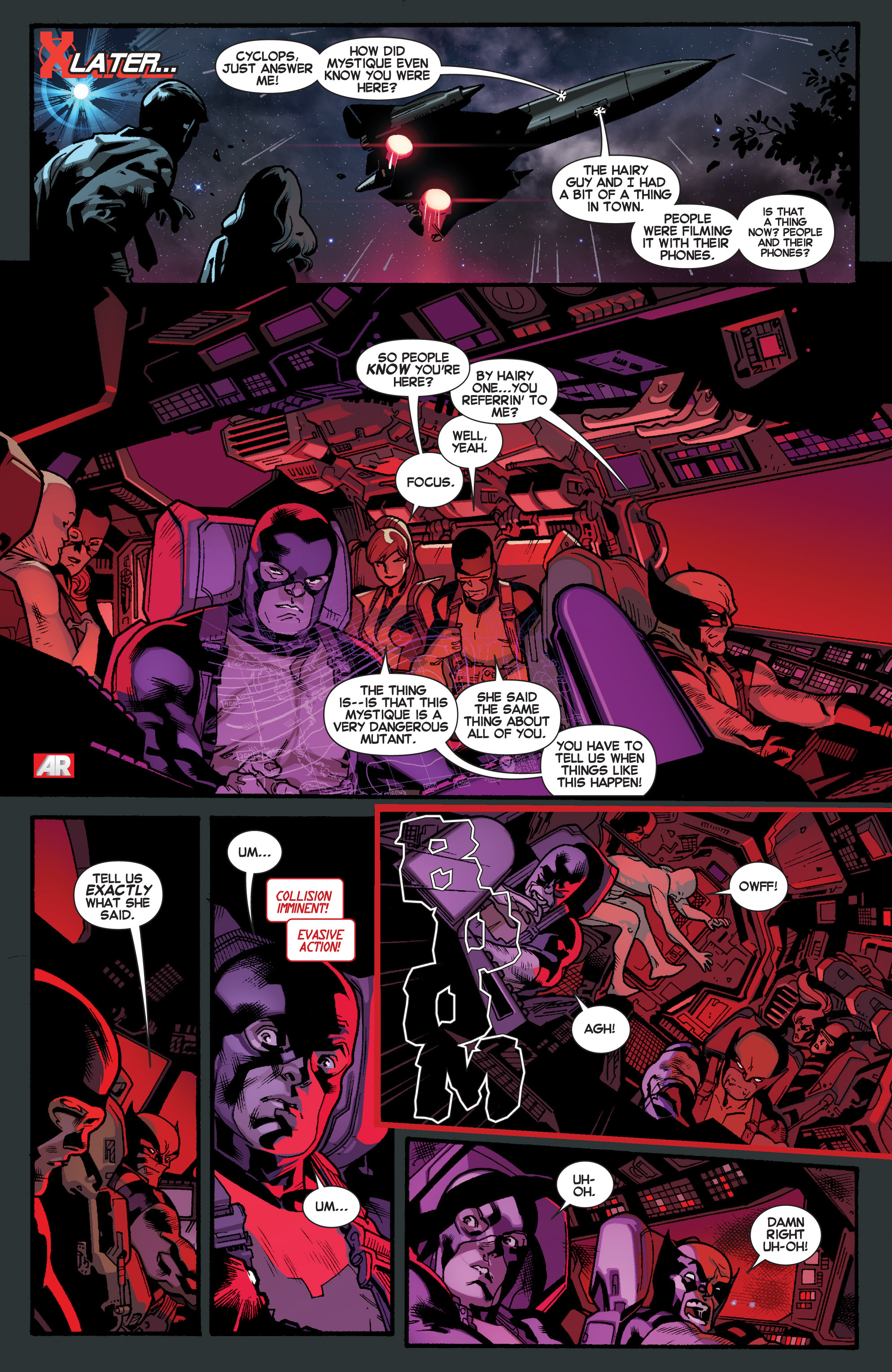 Read online All-New X-Men (2013) comic -  Issue # _Special - Out Of Their Depth - 23