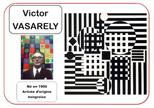 Victor Vasarely - Portrait d'artiste en maternelle