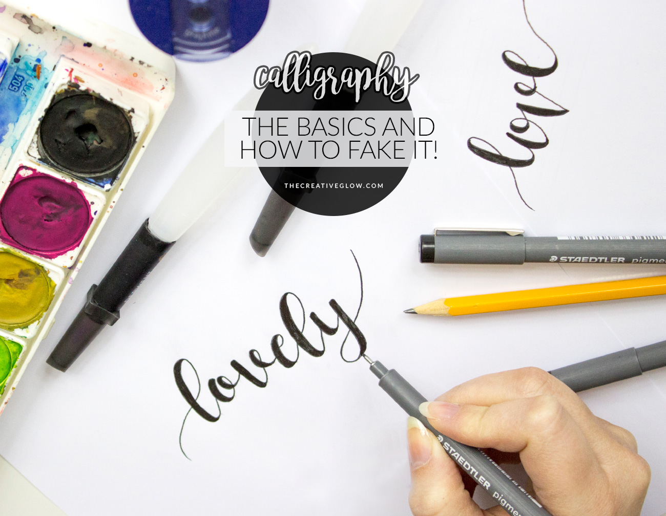 Diy calligraphy basics the 1 rule faux calligraphy Calligraphy basics