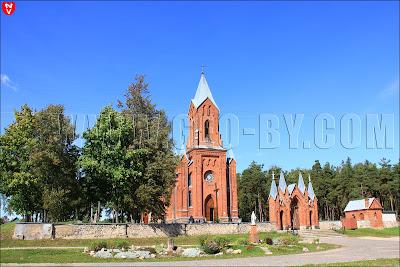 Костел святого Алексея в Ивенце