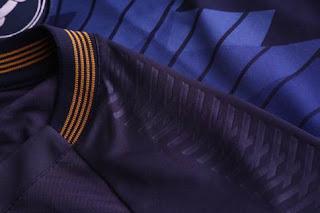 Detalhes da camisa 1 desenvolvida pela Topper para o Clube do Remo. 25c233d7deae5