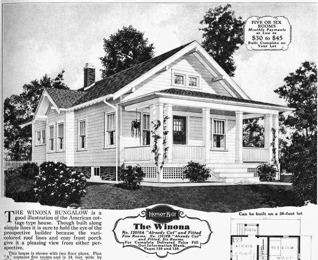 Montgomery Homes Floor Plans When Is A Sears House Not A Sears House