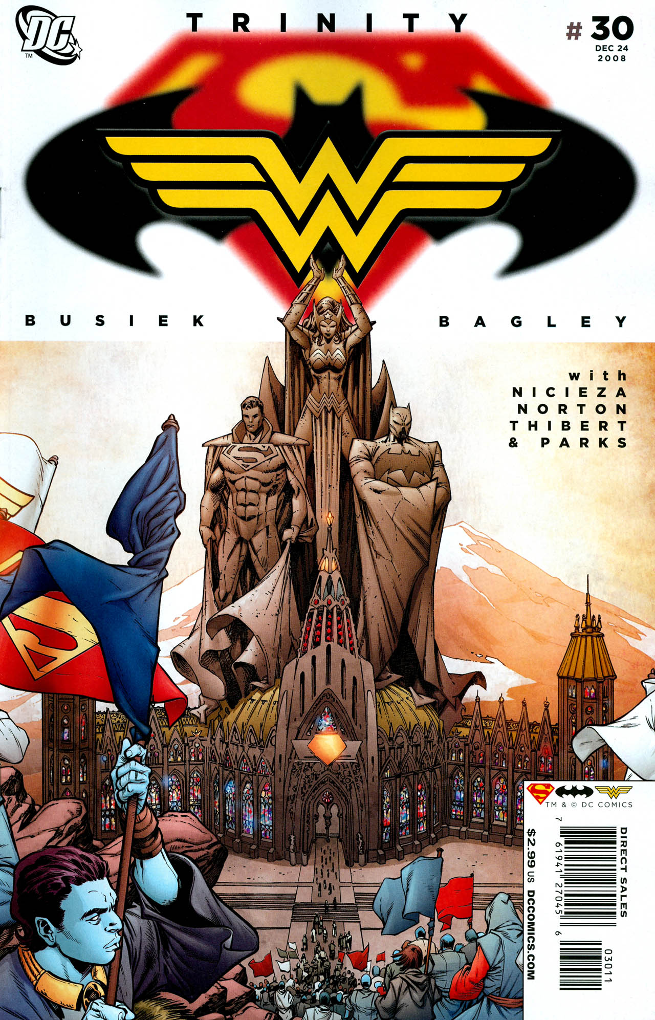 Read online Trinity (2008) comic -  Issue #30 - 1