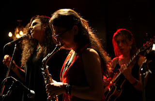 Yamile Burich & Jazz Ladies Orquesta / stereojazz