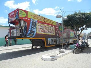 Cidade de Sossego recebe Cinema itinerante