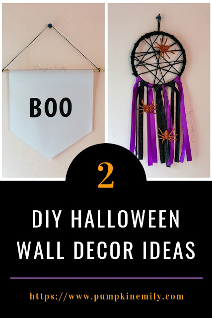 DIY Halloween Wall Decor Ideas