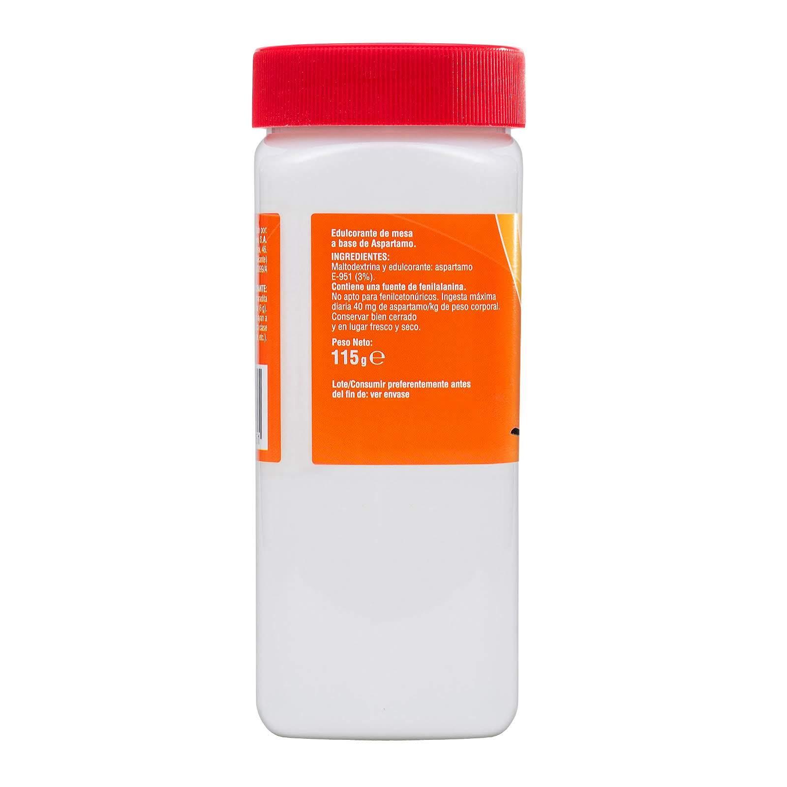 Edulcorante de aspartamo y acesulfamo potásico granulado Hacendado