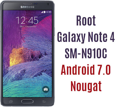 Root Galaxy Note 4 SM-N910C