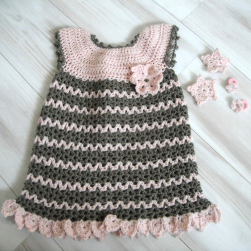Little Sweetie Dress & Headband - Free Pattern