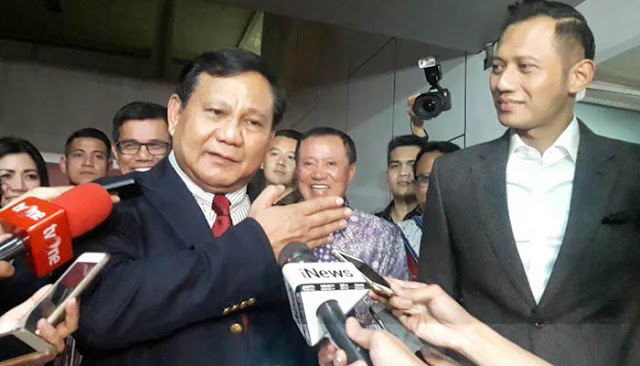 Poros Ketiga PKB, PAN, dan PKS Kemungkinan Akan Terbentuk Kalau Prabowo Gandeng AHY Jadi Cawapres