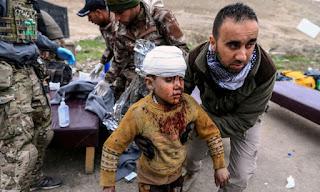 تعرف على الأسباب التي جعلت العالم يتجهاهل جرائم التحالف الأمريكي و القصف الجوي على مدينة الموصل