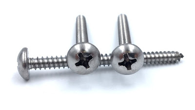 "Custom Deep Recess Phillips Drive Sheet Metal Screws - #8 X 2"" Phillips Pan Type A Sheet Metal Screws"