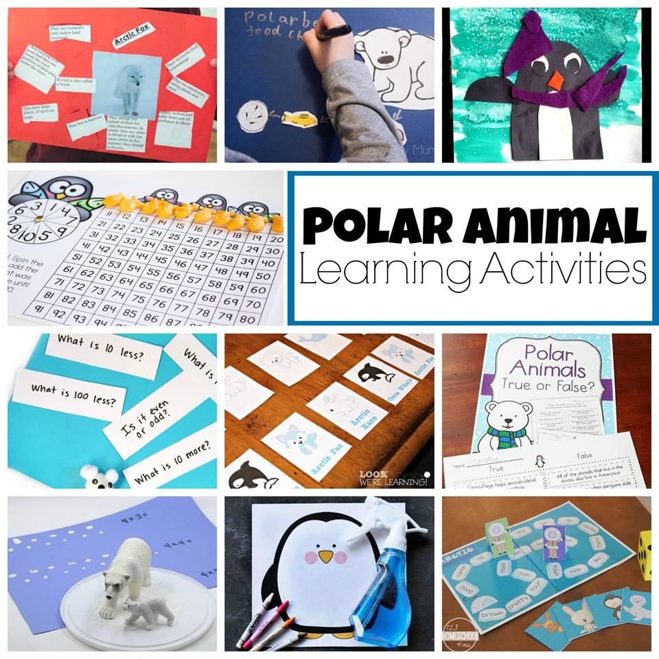 Penguin Art Project Preschool Powol Packets