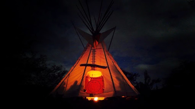 Light in the Teepee