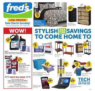 Freds weekly ad