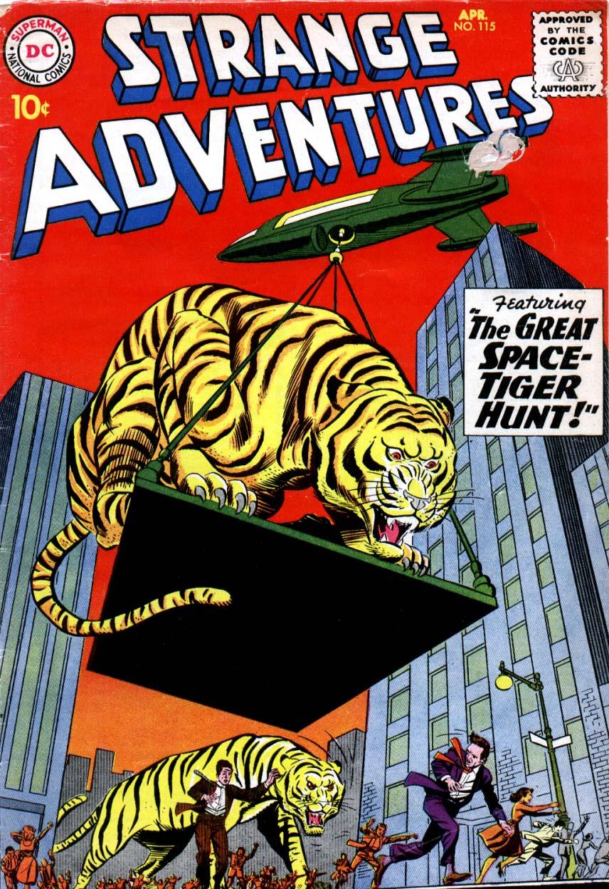 Strange Adventures (1950) issue 115 - Page 1