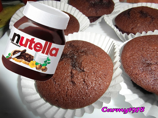 Muffin-con-nutella