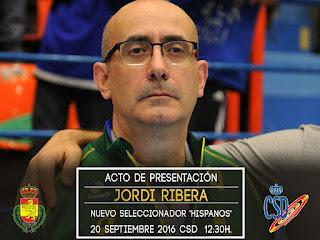 Jordi Ribera, entrenador España Balonmano