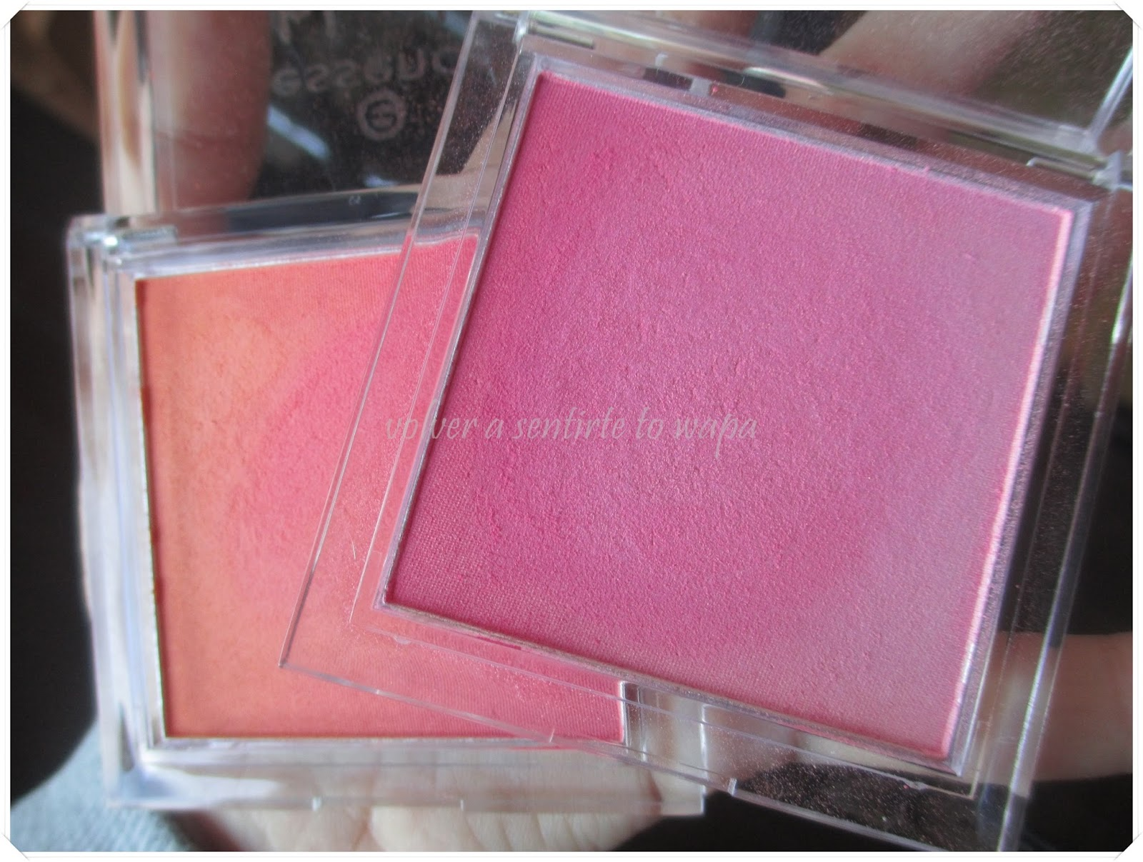 Coloretes de Essence - Blush up!