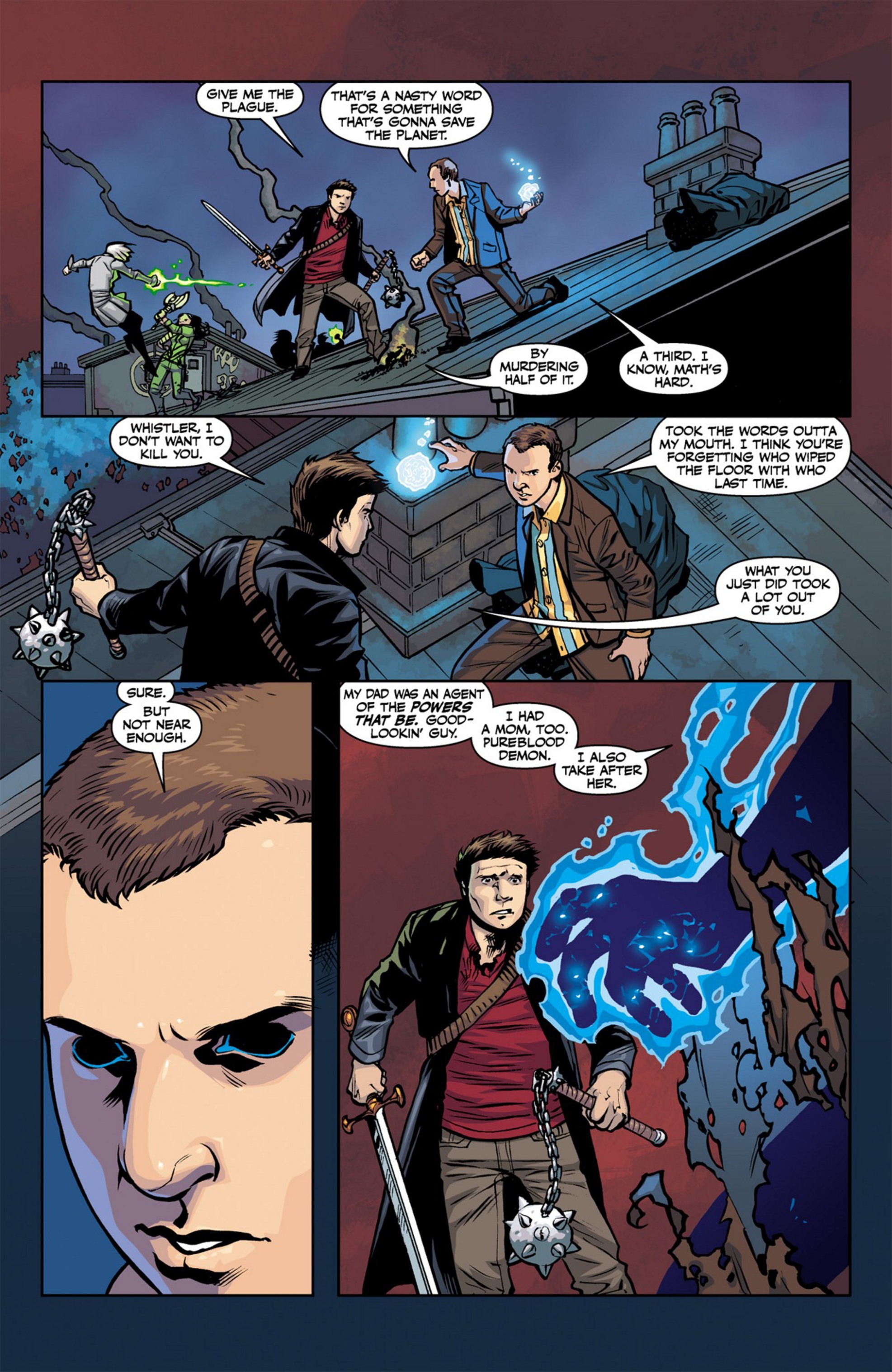 Read online Angel and Faith comic -  Issue #23 - 9