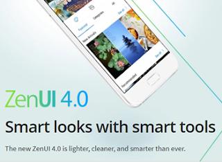 ZenUI 4.0 : Lebih ringan, Ringkas dan Lebih Canggih