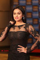 Actress Soniya Stills in Beautiful Black Long Dress at SIIMA Short Film Awards 2017 .COM 0011.JPG