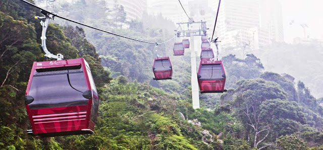 Genting Awana SkyWay Car Park Free Parking