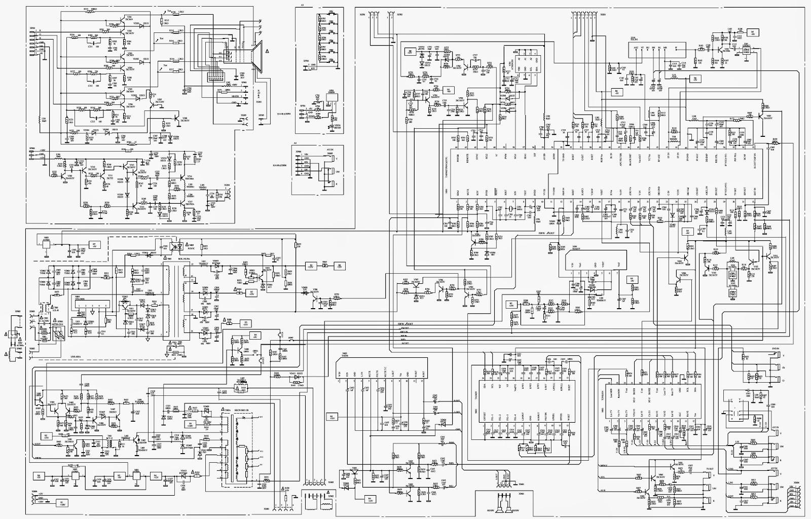 Master Electronics Repair    Funai Ctv S2900pf