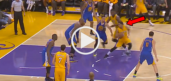 Jordan Clarkson Fakes Out Stephen Curry (VIDEO)