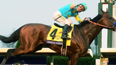 american pharoah walkoff grand slam